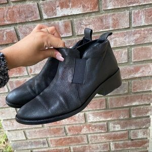 Eileen Fisher Mood Nubuck Black Booties